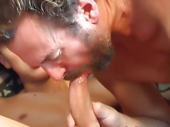 Arrest rented his friend's apartment for the summer free hardcore gay movie