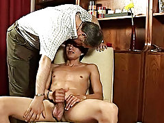 Wasting his precious hardness and seed when he's got his older lover to harvest these twink gems boy on boy sex