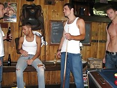 They pair up to suck cock nude gay male groups at Backroomfuckers