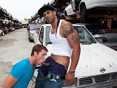 Yo man we were wandering in the hood gay interracial pornos