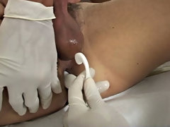 They were a little tight, because they were a reborn yoke that I had in the dryer just a little too fancy male gay medical fetish video