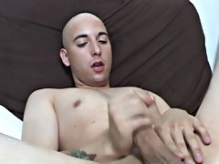 He actually took the dildo out of his ass at one point and stuck it in his mouth to get it all wet, before putting it back in amateur gay cock sucking
