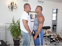 He looked like he belonged on the wrestling circuit bear gay peral