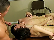 Men sucking and fucking other men and young thai boys being spanked at Teach Twinks