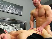 Young guy sucks old man and hot gay studs...