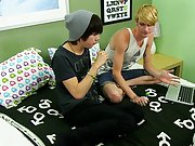 Sexy young gay twinks free porno movies...