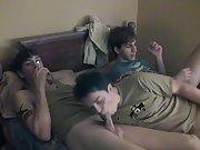 Gay blowjob in cartoon and gay young men...