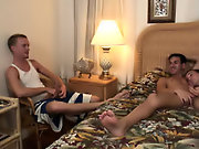 Huge gay group sex and group sex among men