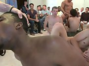 Gay muscle men group sex and gay pics groups at Sausage Party