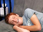 Cute Redhead Alan Parish lays back for a sexy interview with the director and a hot jackoff sesh free gay sex web cams boy at Boy Crush!