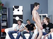 Barely legal twinks first gay anal gape...