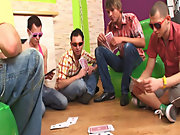 Nasty group gay sex xxx and free gay group sex at Crazy Party Boys