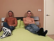 Twink boy caught naked and jerking and gay...