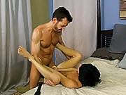 Gay self fucking tube and young muscular...