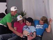 Cowboys teen boy and gay boys licking lovers armpits at Staxus