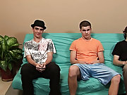 Gay group sex party and nude male group...
