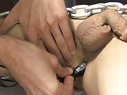 Roxy loves every minute of this sexy bondage scene gay twink pic