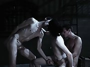 Group treatment for drug addiction and gays having group sex - Gay Twinks Vampires Saga!
