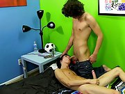 He and Kyler fuck hard, Kyler even cums while they do gay male twinks nudes at Boy Crush!