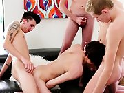 boy fucked by big lady and black man masturbating while eating pussy