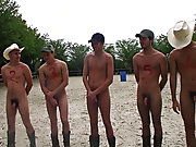 The 3 winners get their prizes in the horse stable, and ooohhhh what a bunch of great prizes fraternity gay group se