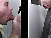 Guy gives male cousin blowjob and...