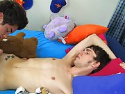 Hot sleeping twink stripped and gay foot...