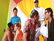 Group sex andnot gay teen and gay porn...