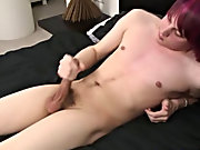 This boy has an astounding stroke technique and cums some thick creamy stuff that I wager tastes so good boys pissing in the urinal at Homo EMO!