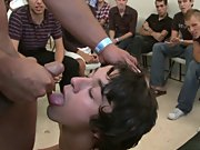 Group men sex and group gay and lesbians fuck at Sausage Party