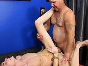Preston services Tee-Cee on his knees in advance of that guy takes a hard pounding in his tight boy-hole and a sexy load of daddy's cum to his fa