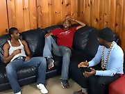Ebony gay black studs and black men with...