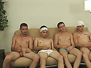 Male masturbation groups and group sex...