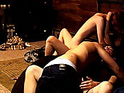 Gay fucked raw sex pic and gay guys go down on stiff dicks - at Boy Feast!