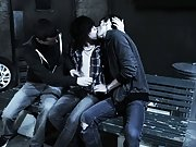Free gay man sex picture group sex porn and gay group sex in a locker room - Gay Twinks Vampires Saga!