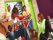 Health mental disorders anxiety support groups and gay group masterbation at Crazy Party Boys