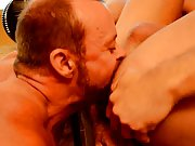 Sexy hot gay kissing with penis and gay...