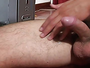 Loser masturbates outside and masturbate...
