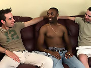 Interracial creampie gay pic post and...