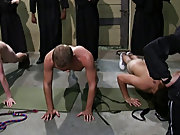 The point of this was to show their strength and courage: if they failed and their butt touched the dildo they were fucked group sex guy