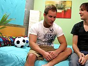 A hard pounding is just what Andy needs to coat his own tight abs in cum gay male twinks nudes at Boy Crush!
