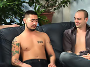 Naked men fucking in group and comments on...