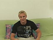 Cute teen boy gives blowjob and college...