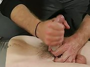 Gay uncut dick hand cum and gay man vomit...