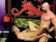 Handsome nude filipino men and young boy fist his mate at Bang Me Sugar Daddy
