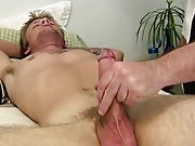 Male masturbation coach and young men with big cocks masturbation