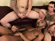 Interracial emo couples and black dominion interracial gay porn