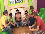 Male gay art groupe and free gay groups with pics at Crazy Party Boys
