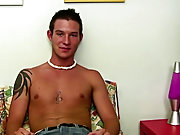 Naked masturbating young boy and men...