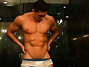 Instead, let's watch him stroke his fat pipe until it bursts his sticky load muscle guys gallery